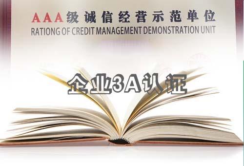3A企业信用认证- 黔税E+